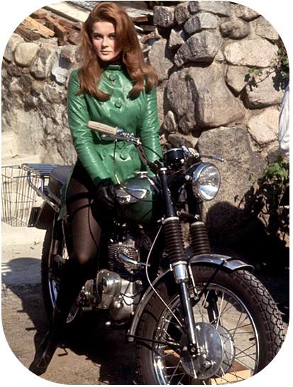 Famous Triumph Riders | G E O R D I E B I K E R