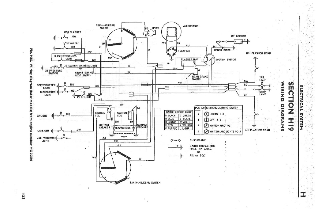 triumph bobber wiring diagram imageresizertool com Triumph Chopper Wiring Diagram Triumph T120R 650 Wiring-Diagram