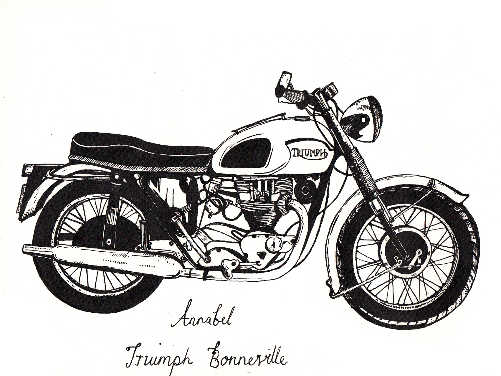 Line Drawing Motorcycle : Motorcycle art g e o r d i b k page