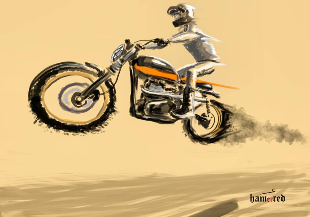 Motorcycle Art | G E O R D I E B I K E R | Page 3