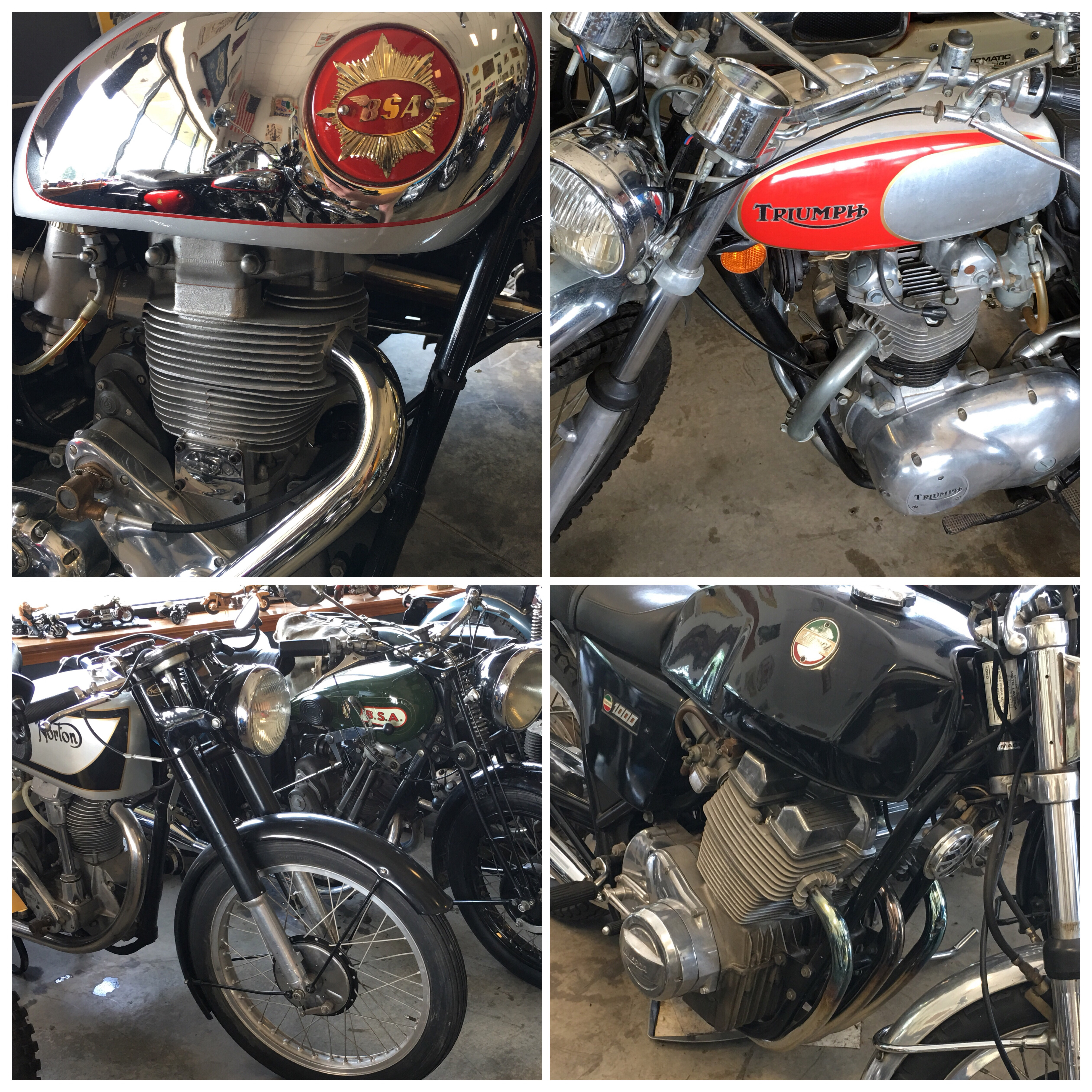 Four Square More Offerings From The Ringwood Motorcycle Emporium Delicious